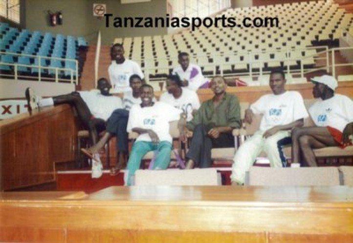 Timu ya Taifa ya Voleeyball, tukiwa Nairobi, Kenya