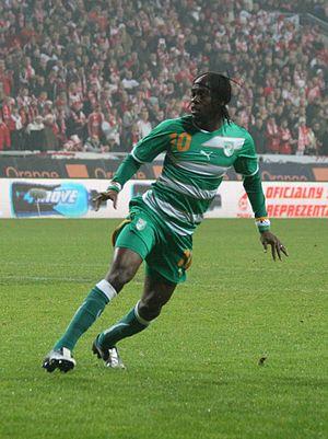 English: Ivorian football player Gervinho
