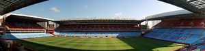 English: Panorama of Villa Park, Birmingham fr...