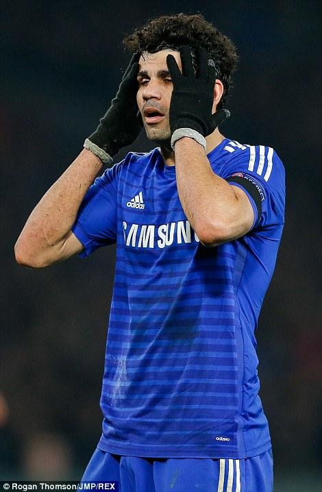 Costa, alikuwa na bahati ya kuendelea kuwa uwanjani....