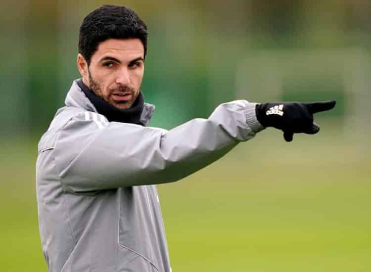 Mikel Arteta has tested positive for Covid-19.