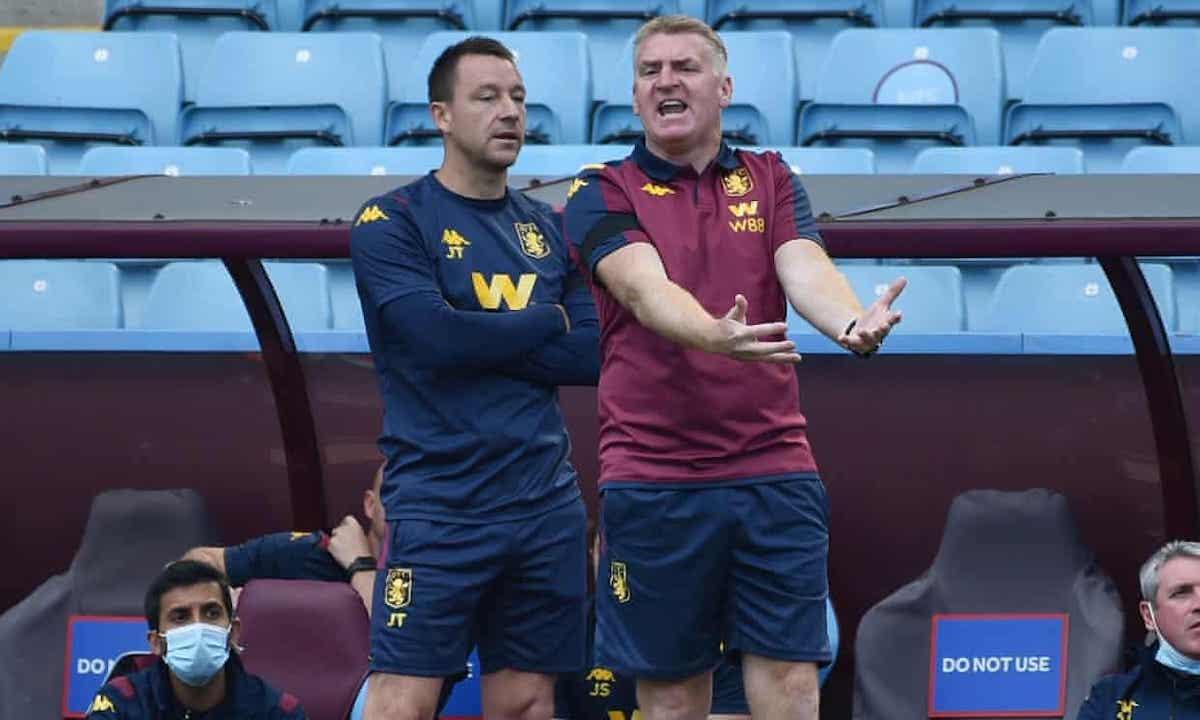 Dean Smith wa Aston Villa