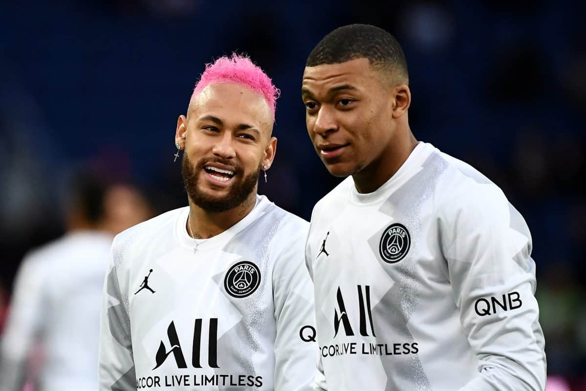 Kylian Mbappe na Neymar