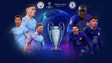 Manchester City and Chelsea meet in the Champions League final